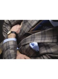 bruin-geruite-kostuumvest-maatkleding