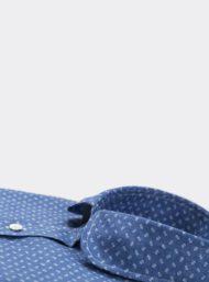 donkerblauw-hemd-bloemenprint-maatkleding