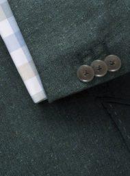 groen-jas-colbert-knopen-maatkleding