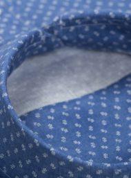 kraag-donkerblauw-hemd-bloemnprint-Maatkleding