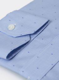 lichtblauw-hemd-stip-herenkleding