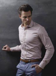 wit-maathemd-paarse-bollen-das-kleding-op-maat