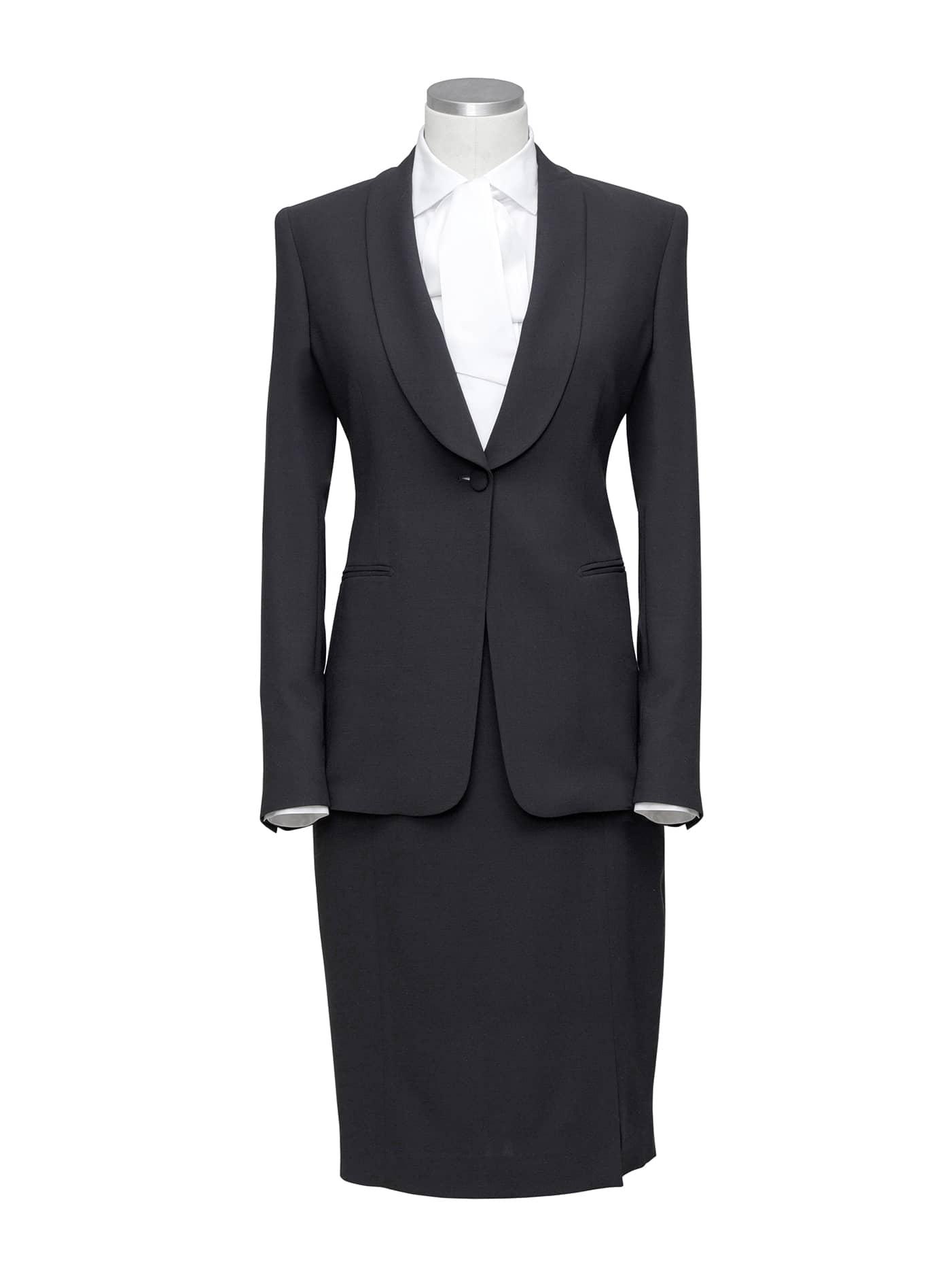 Spiksplinternieuw Zwart Kostuum met Rok Kopen? Dameskostuums Op Maat - Zakelijke TS-46
