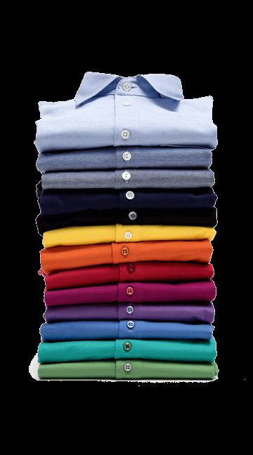 Polo's & T-shirts op maat in verschillende kleuren